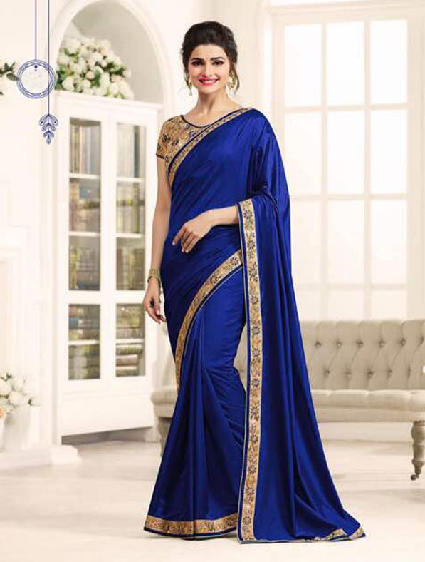 Georgette Designer Embroidered Saree