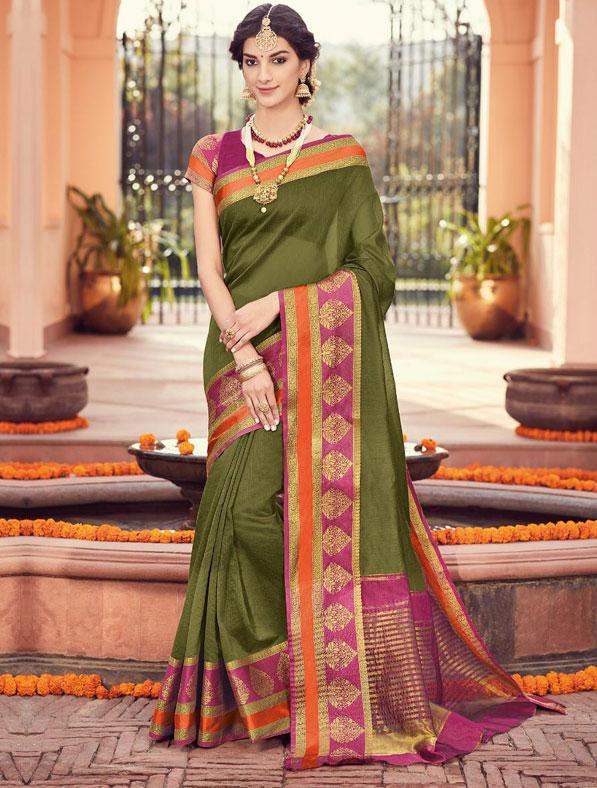 Handloom Silk Designer Saree