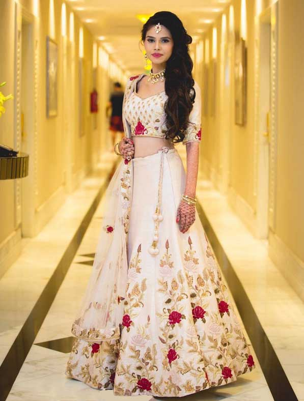 Classic Designer Embroidered Lahenga Choli