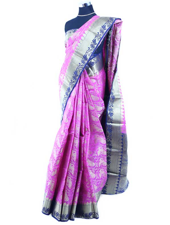 Banarasi Brocade Silk Saree