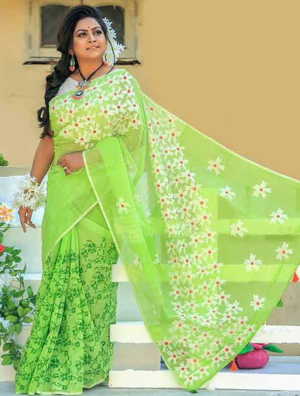 Special Block Printed Designer Saree