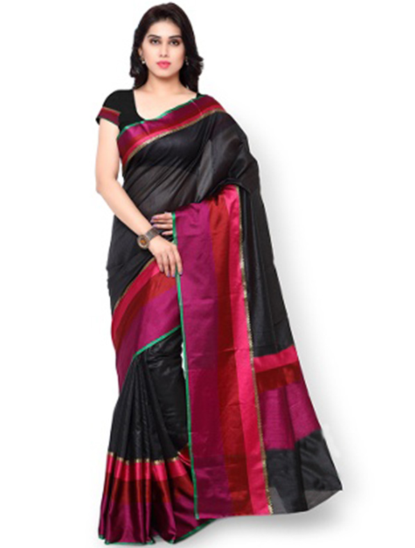 Solid Silk Designer Stylist Saree