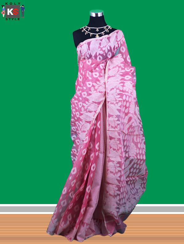 Traditional Tant Cotton Saree