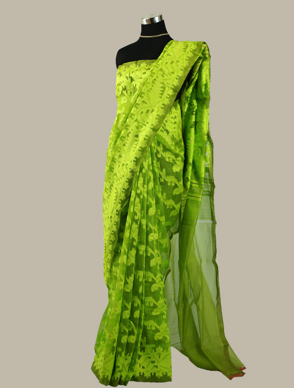 Exclusive Moslin Jamdani Saree