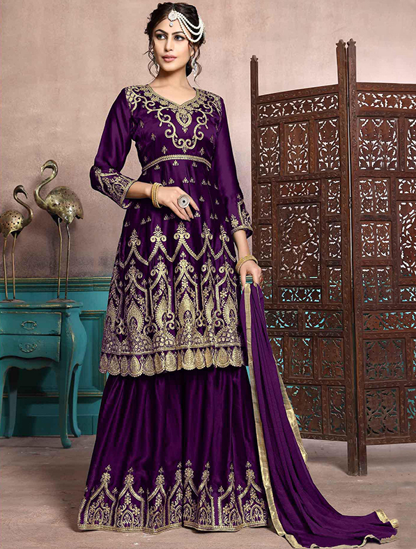 Georgette Party Wear Salwar Kameez