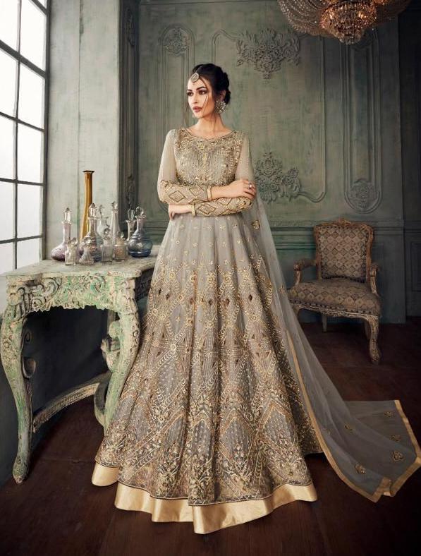Elegant Indo Western Gown