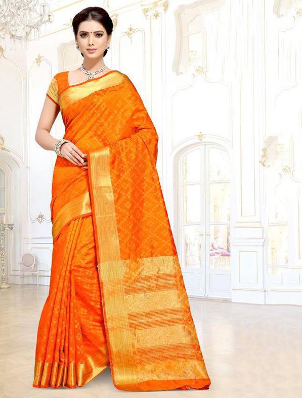 Cotton Silk Traditional Fancy Saree