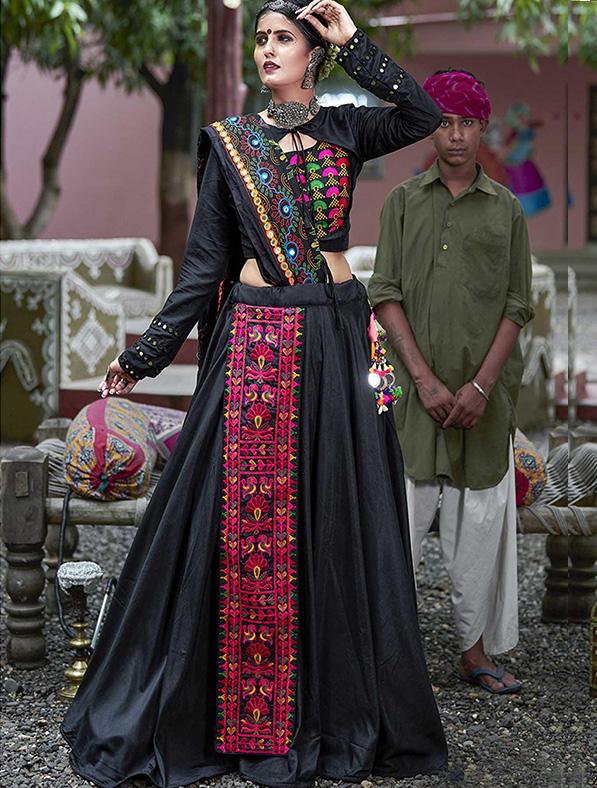 Cotton Hand Work Designer Lehenga