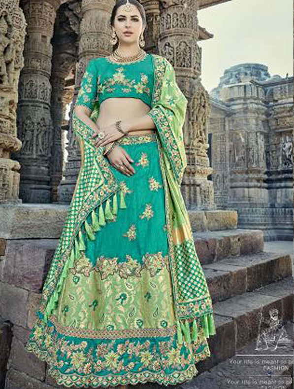 Silk Wedding & Bridal Designer Lehenga