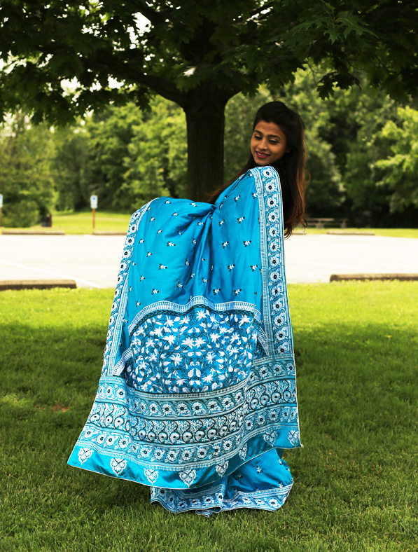 Designer Mulberry Silk Saree