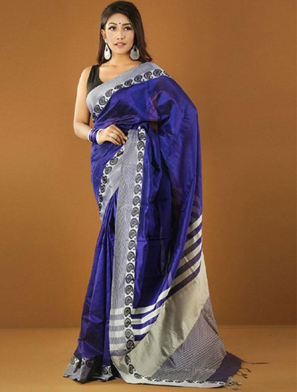 Designer Tangail Tant Saree