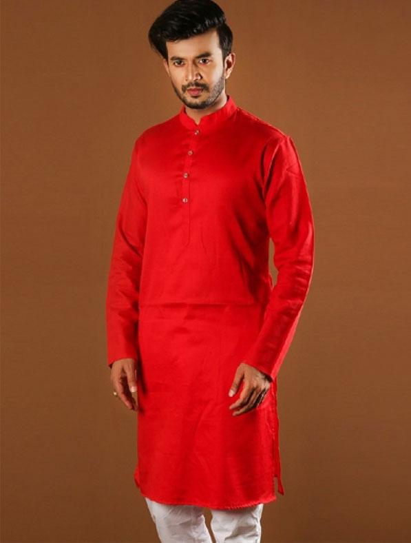 Special Solid Color Designer Panjabi
