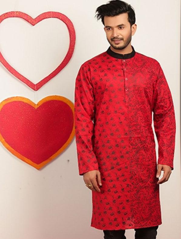 Special Printed Designer Panjabi
