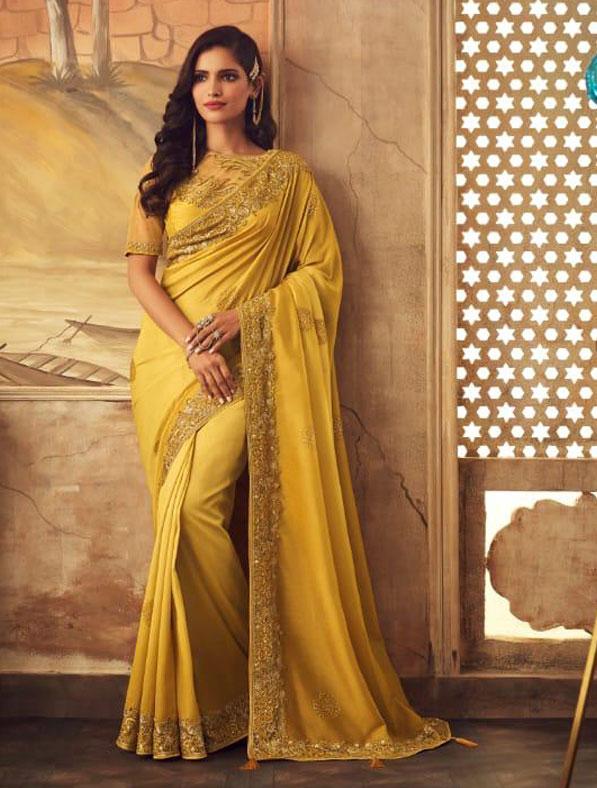 Designer Kisna Silk Saree