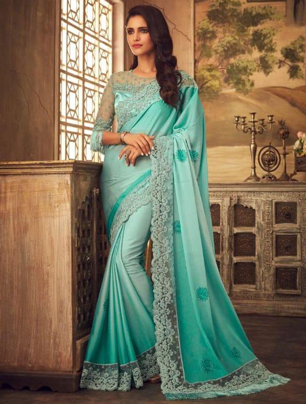 Designer Kiara Silk Saree