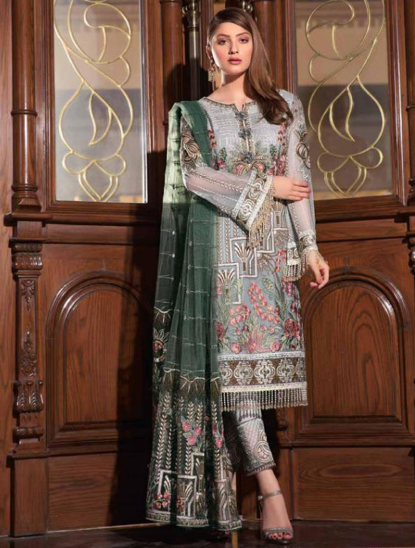 Heavy Embroidered Georgette Salwar Kameez
