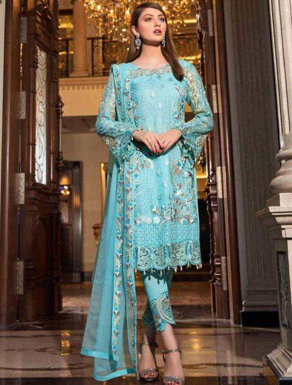 Heavy Embroidered Georgette Salwar Kameez