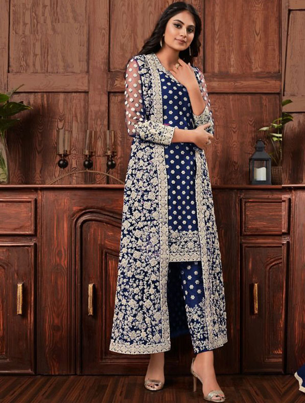 Heavy Embroidered New Shalwar Kameez Suit