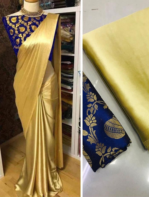 Special Japanese Satin Silk Saree