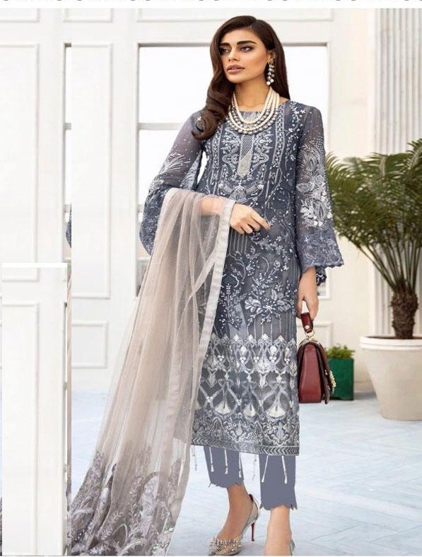 Embroidered New Shalwar Kameez Suit