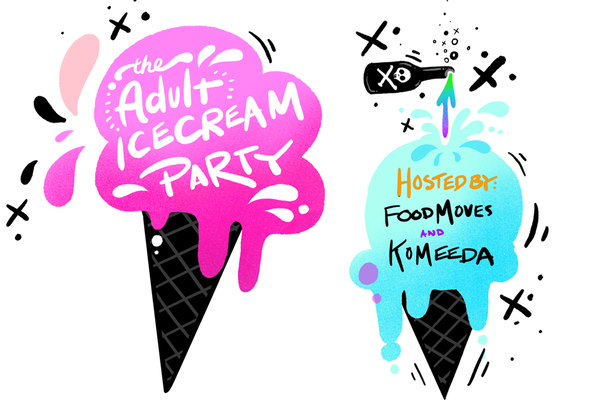 The Adult Ice Cream Party photo