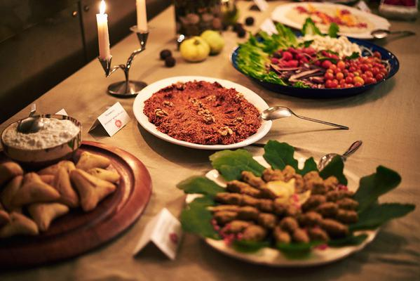 Syrian Christmas Dinner photo