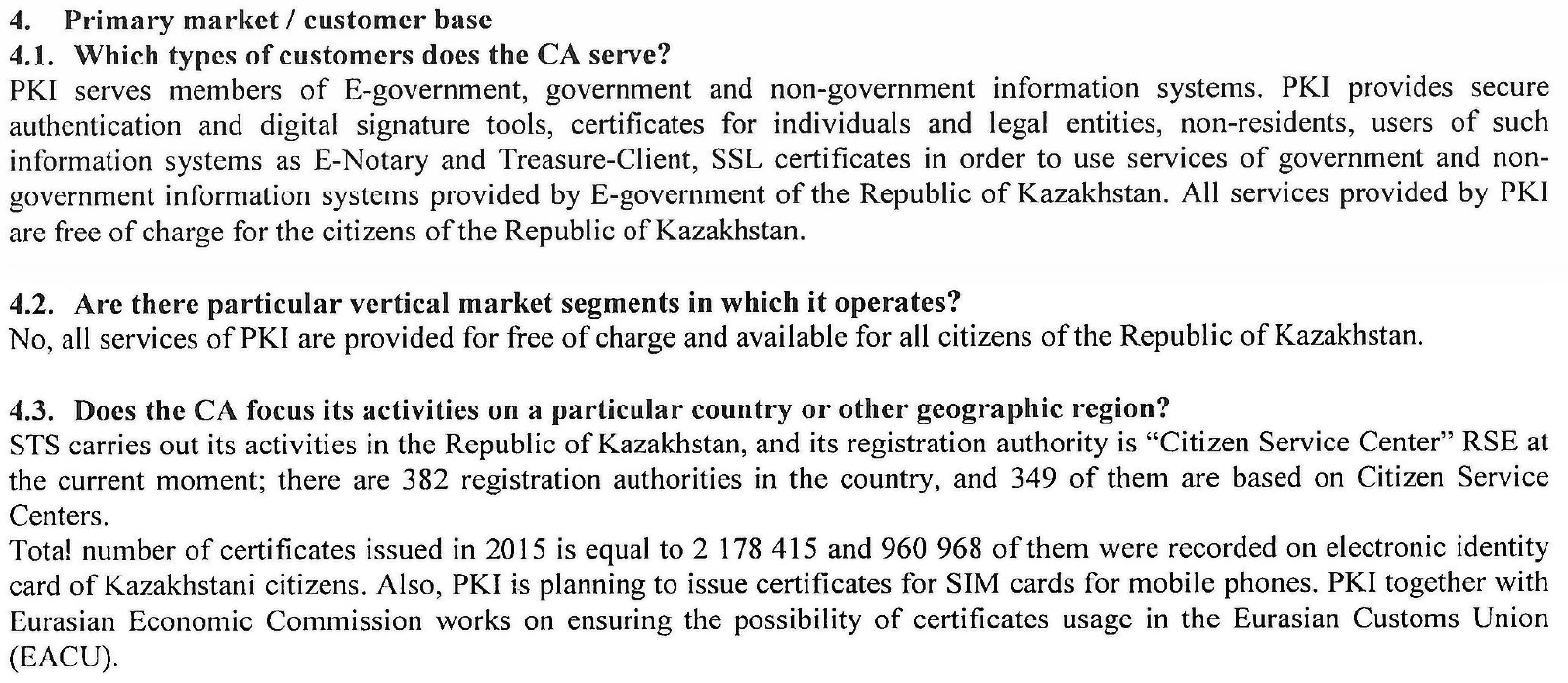 Kazakhstan imposes users to install government controlled
