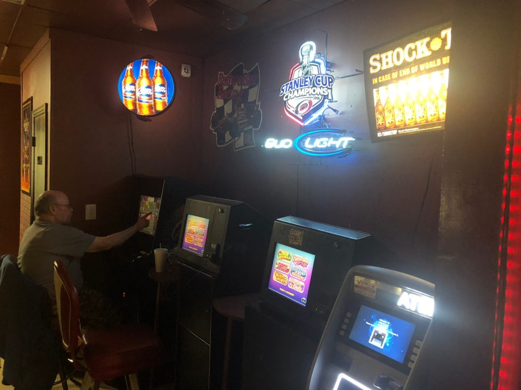 More video game machines