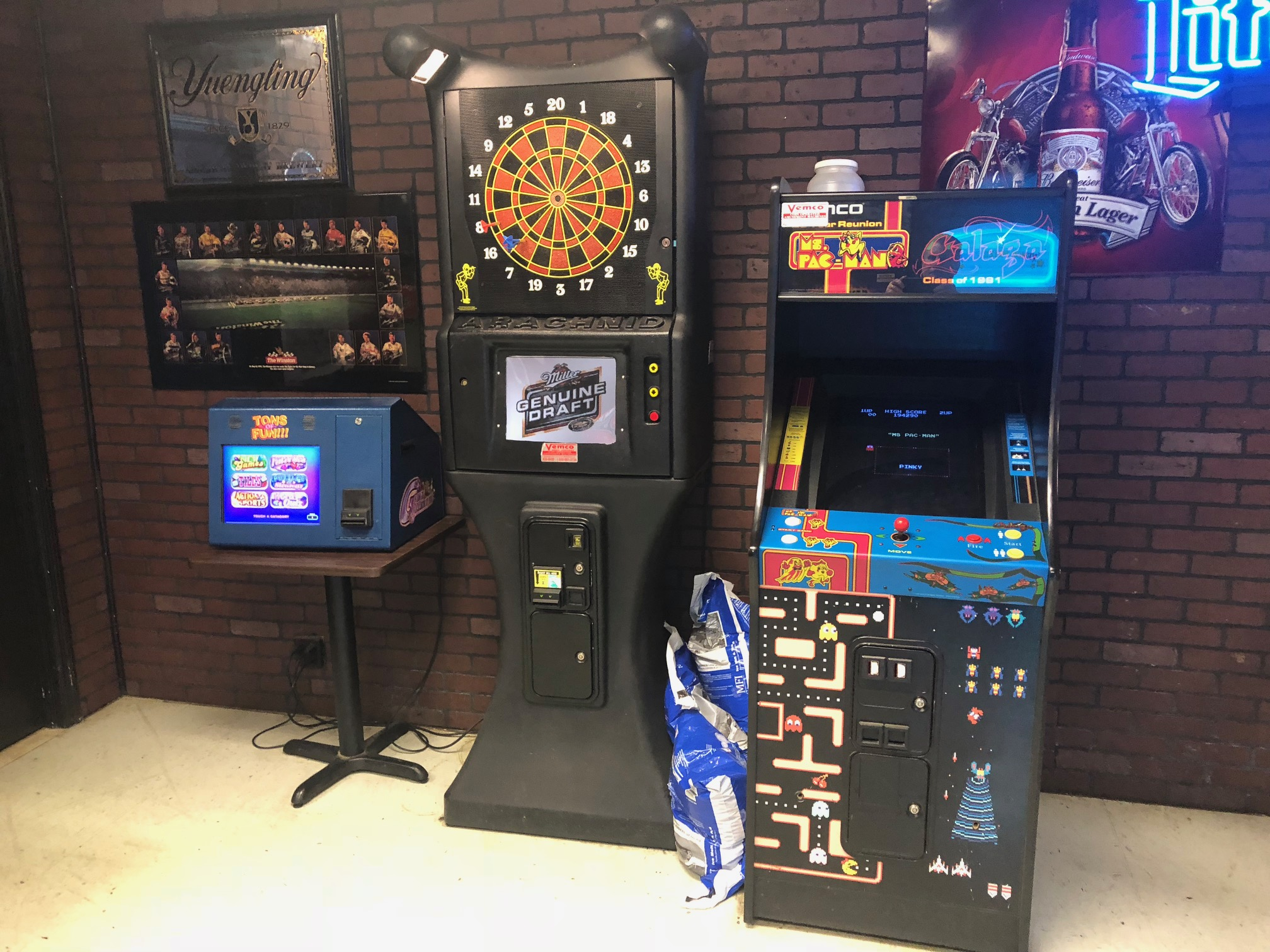 Darts, video games, and more at Dave's Place