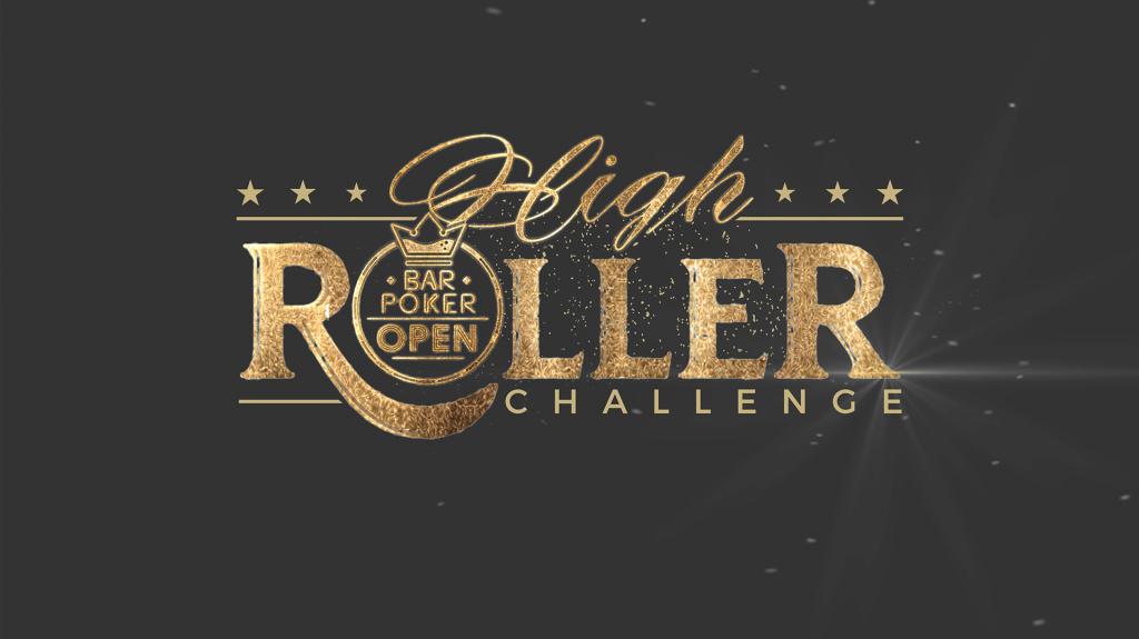bar poker open high roller banner