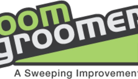 Broom Groomer logo design Winner