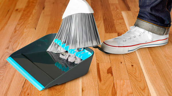 A sweeping improvement in dustpans