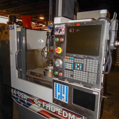 Tek4-USA 6-Axis CNC EDM Drill for Sale 2013