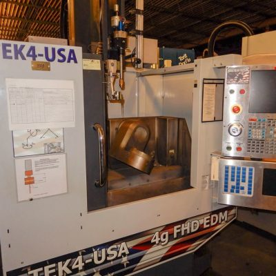 Tek4-USA 6-Axis CNC EDM Drill For Sale