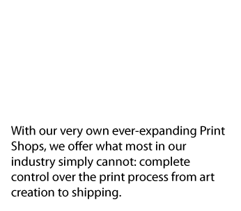 In house print shops text