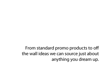 Promotional products text