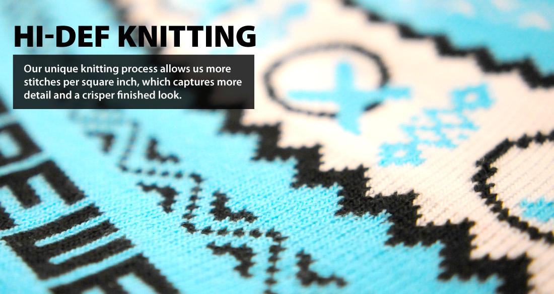 Hi def knitting