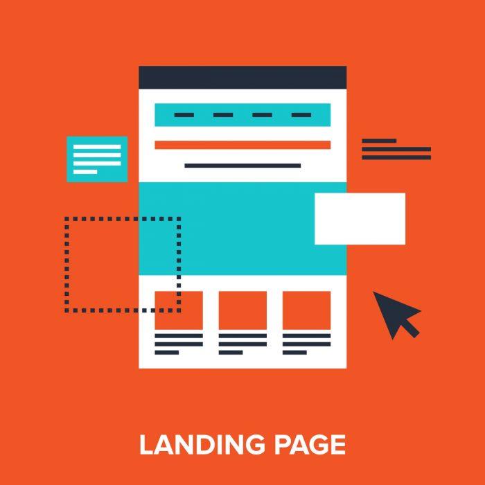 Crie uma landing page