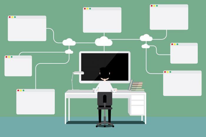Estrutura da estratégia de marketing viral: rede de distribuição