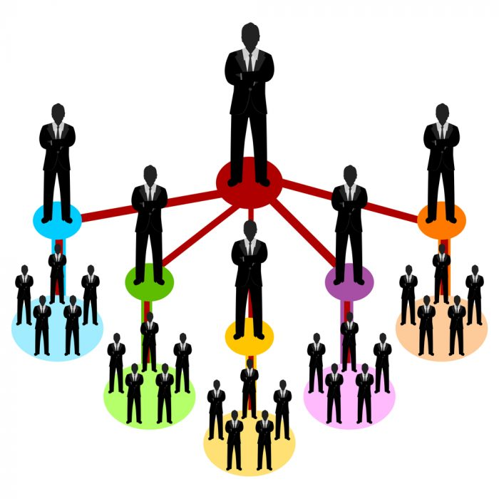 Diferença de pirâmide e marketing multinível