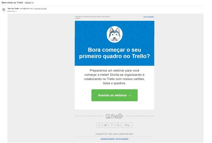 Tipos de e-mail marketing: transacional