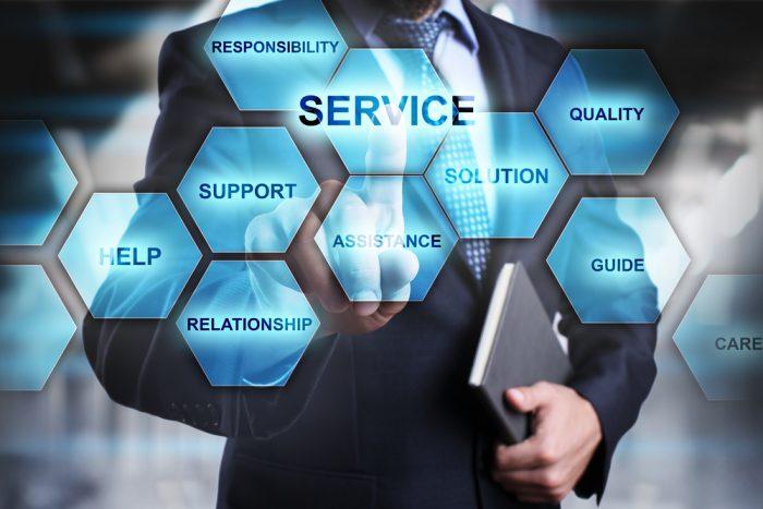 Características dos serviços