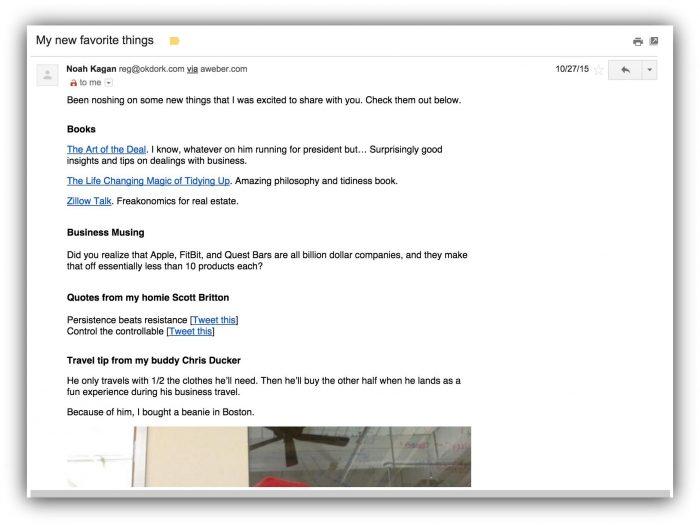 261b8e128 Tipos de email  os 25 exemplos mais incríveis para você se inspirar ...
