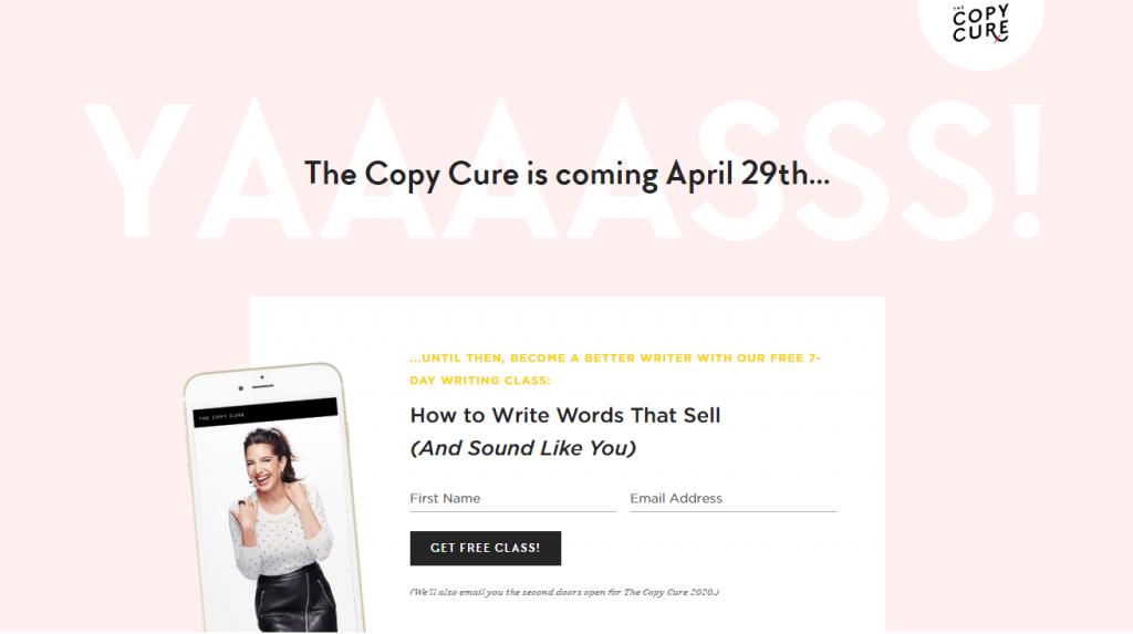 Copy cure