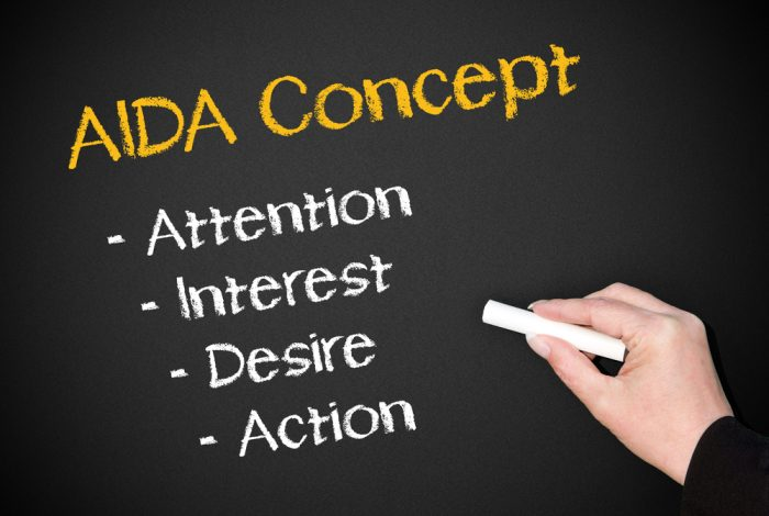 O que é AIDA (atenção, interesse, desejo e ação) e como usar