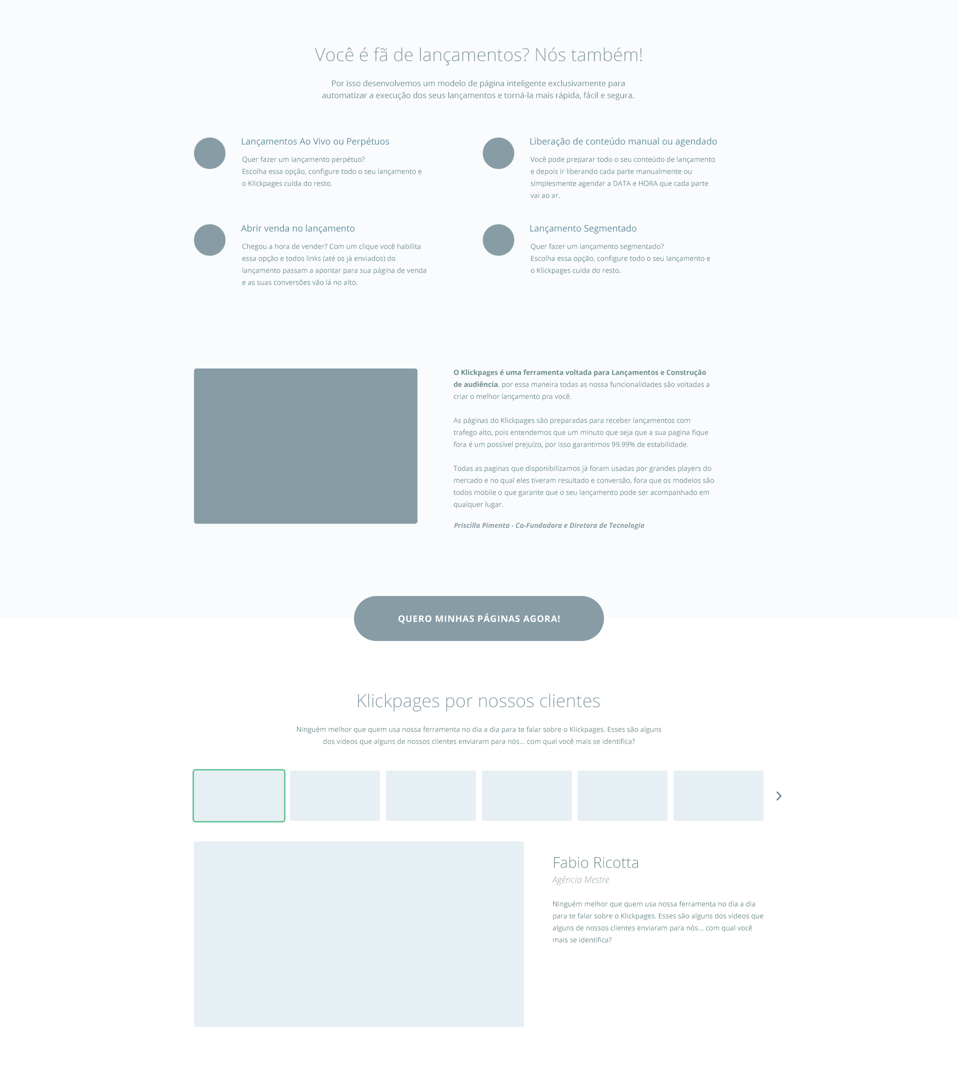 Corpo do texto 2 wireframe