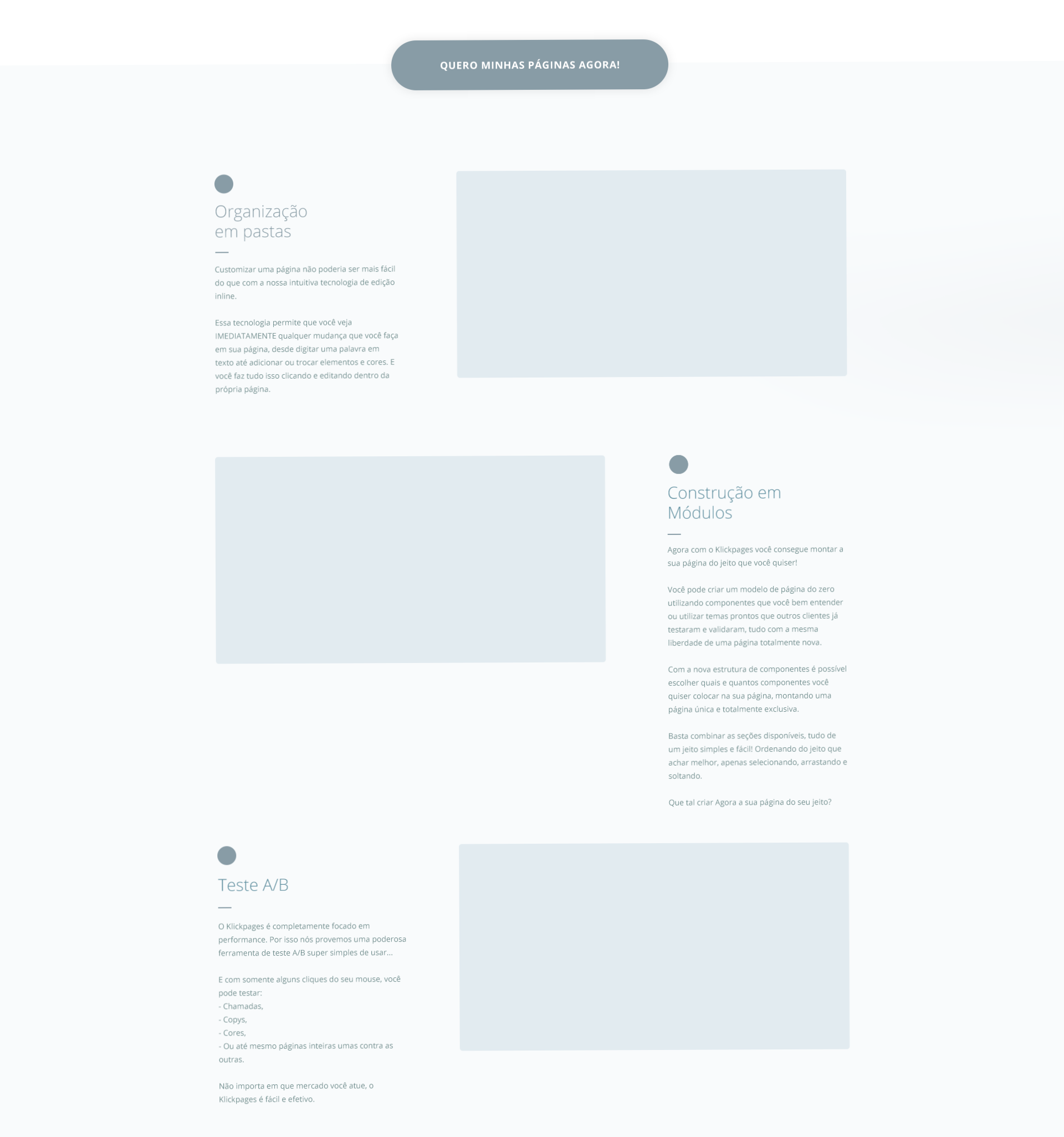 Corpo do texto wireframe