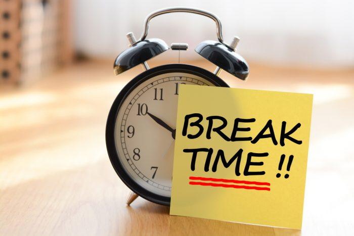 Produtividade  Fazer pausas é fundamental