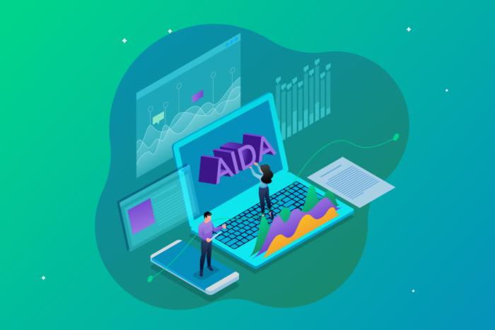 Modelo AIDA: o que é e como aplicá-lo para criar landing pages de alta conversão