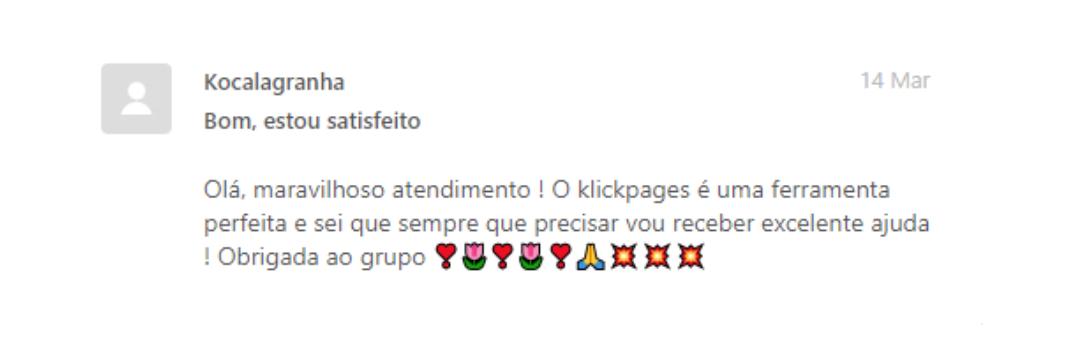 Noreply depoimento klickpages 4